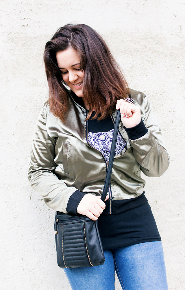 Bomber Jacken Outfit