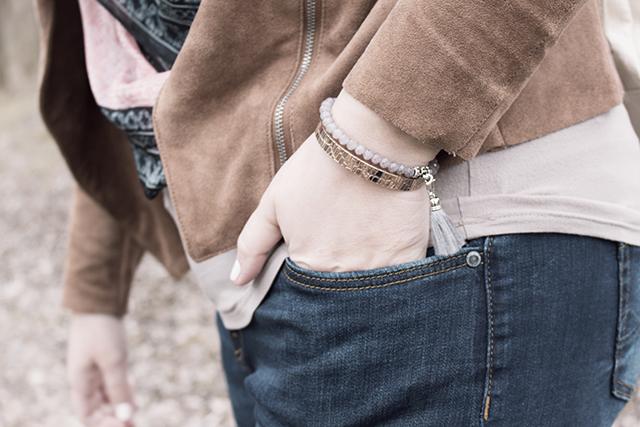 MeLovely Bracelets, Denim, Jacket