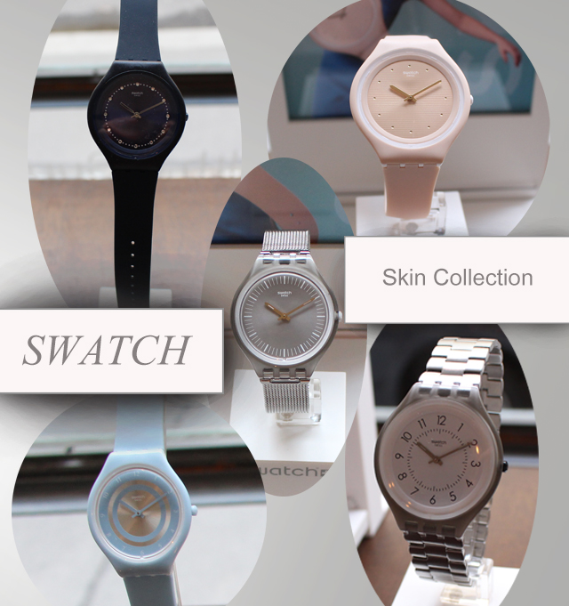 Swatch SKIN Kollektion & Detox Delight Pop Up Store