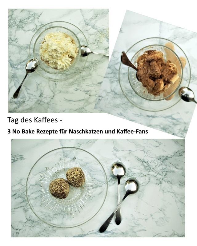 3 No Bake Rezepte für Naschkatzen und Kaffee-Fans