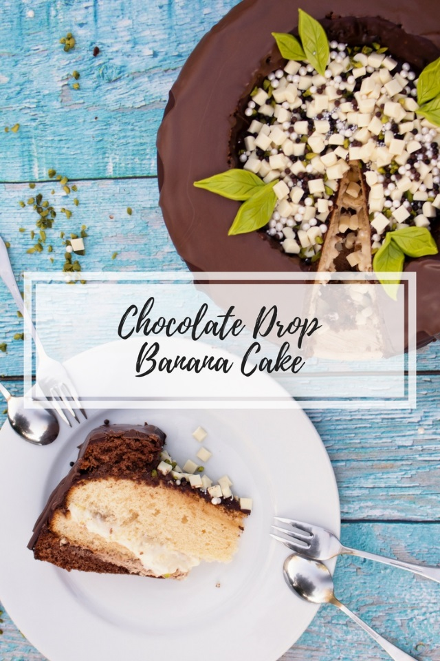 Chocolate Drop Banana Cake