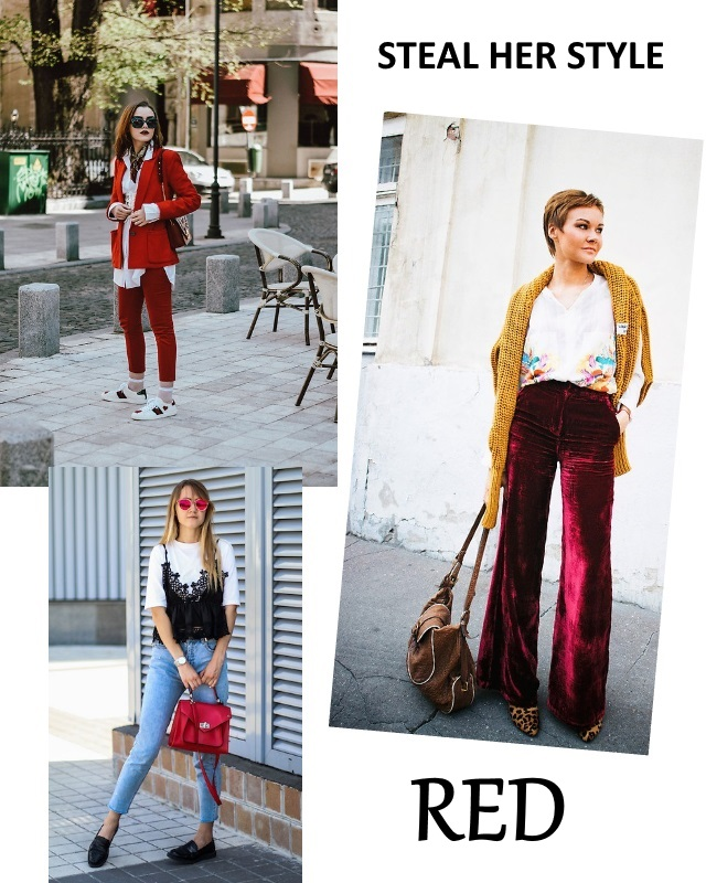 Steal Her Style –  Three Beautiful Ways To Wear Red
