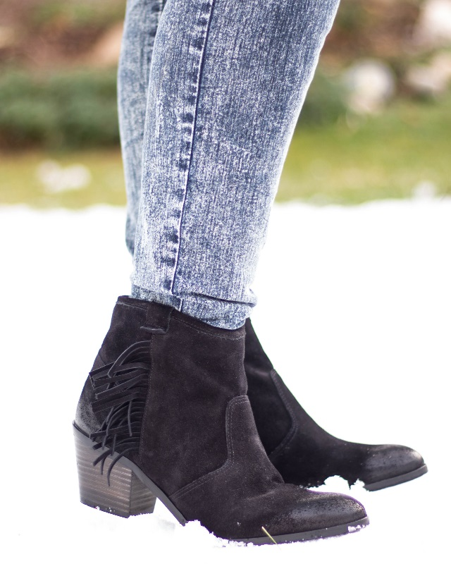 These boots are made for walking – Meine Fransen Boots im Cowboy Chic