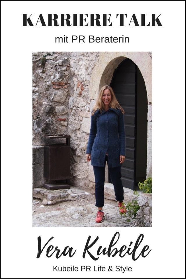 KARRIERE TALK mit PR Beraterin Vera Kubeile