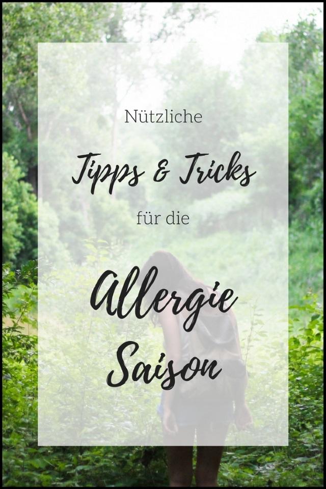 Nützliche Tipps und Tricks für die Allergie-Saison
