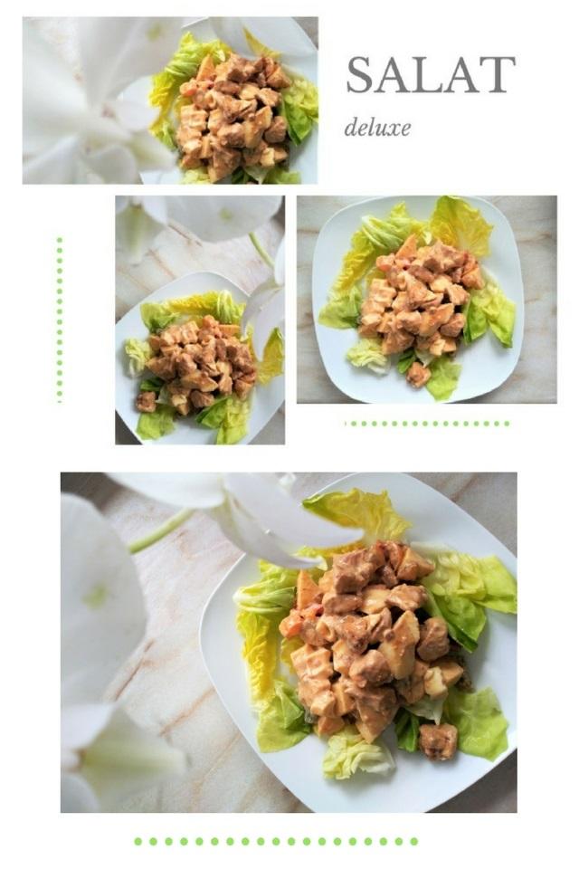SALAT deluxe mit Putenfleisch – lecker, gesund, einfach