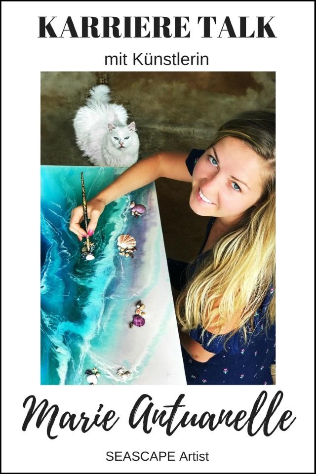 KARRIERE TALK mit der australischen Künstlerin Marie Antuanelle
