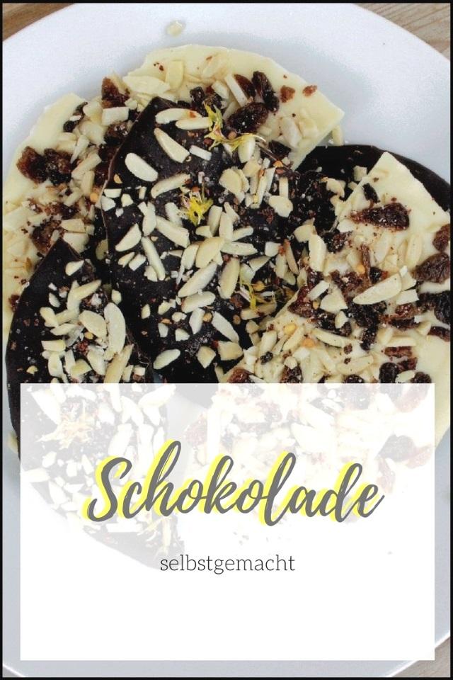 Food Inspiration – Selbstgemachte Schokolade hell & dunkel
