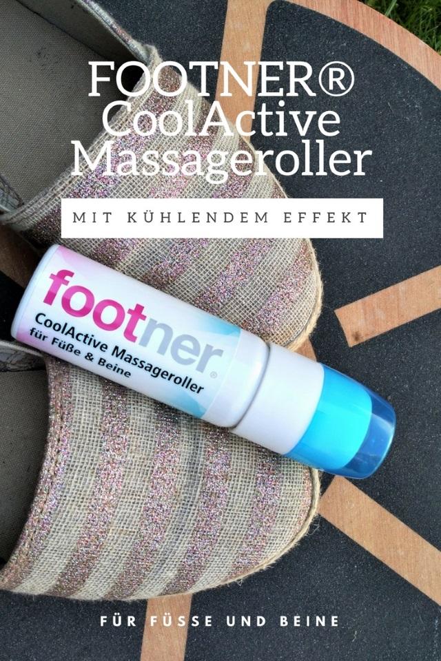 Der FOOTNER® CoolActive Massageroller mit kühlendem Effekt