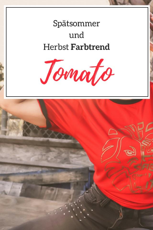 Tomato – Spätsommer und Herbst Farbtrend