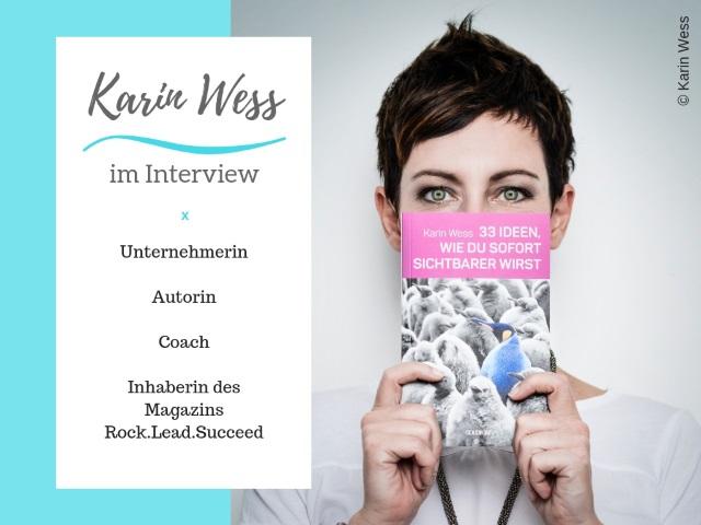 Karin Wess – Unternehmerin und Multitalent im Interview
