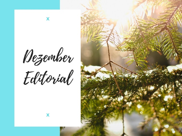 Dezember Editorial