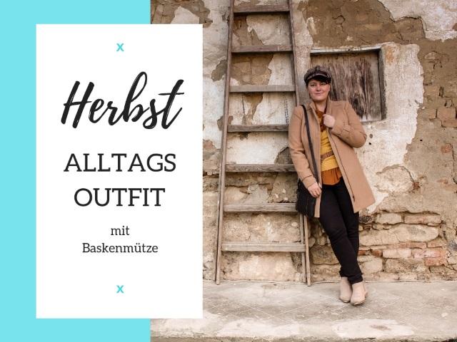 Outfit in den Herbstfarben Braun, Senfgelb, Beige…