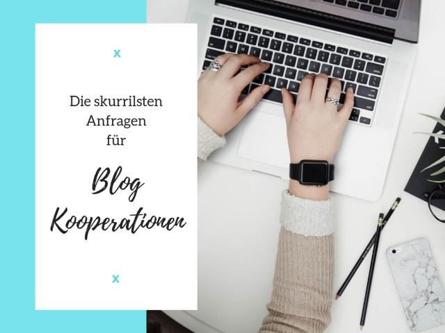 Die skurrilsten Anfragen für Blog-Kooperationen