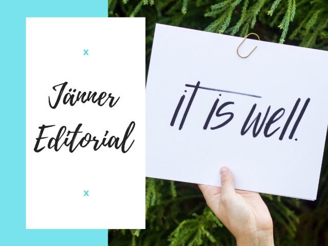 Jänner Editorial