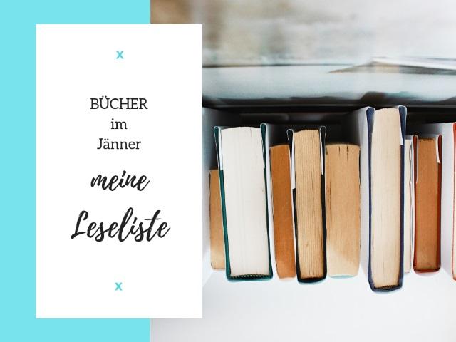 Bücher im Jänner – Meine Leseliste