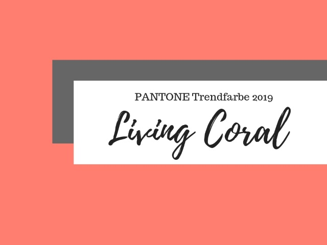 Living Coral Interior – PANTONE TRENDFARBE 2019