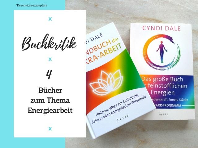Buchrezensionen: 4 Bücher zum Thema Energiearbeit