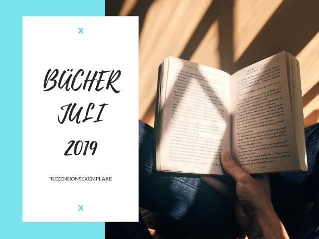 Buchempfehlungen für JULI 2019