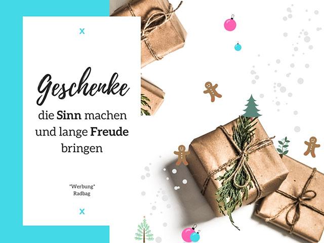 Geschenke, die Sinn machen und lange Freude bringen