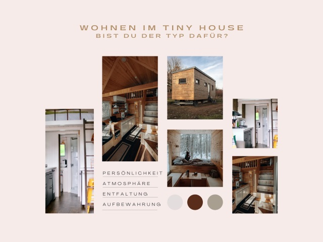 Wohnen im Tiny House – bist du der Typ dafür?