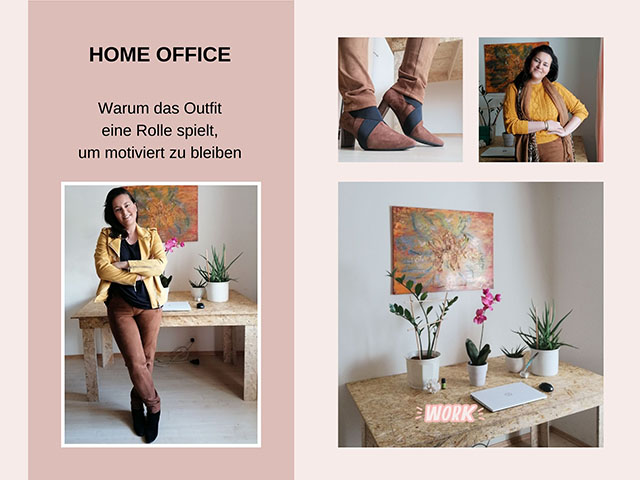 Warum das Outfit im Home Office eine große Rolle spielt