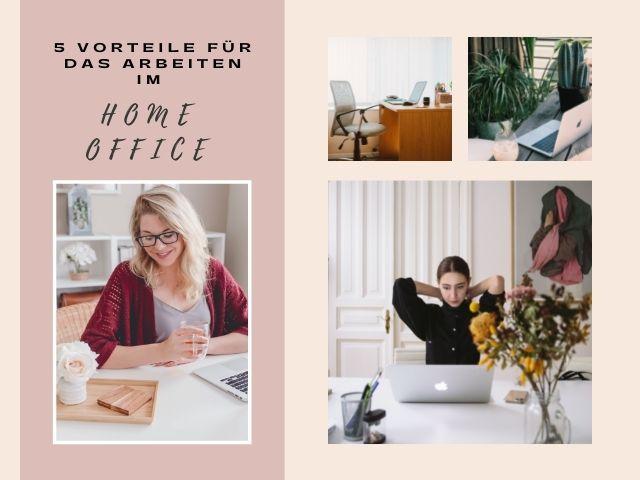 5 Vorteile für das Arbeiten im Home Office